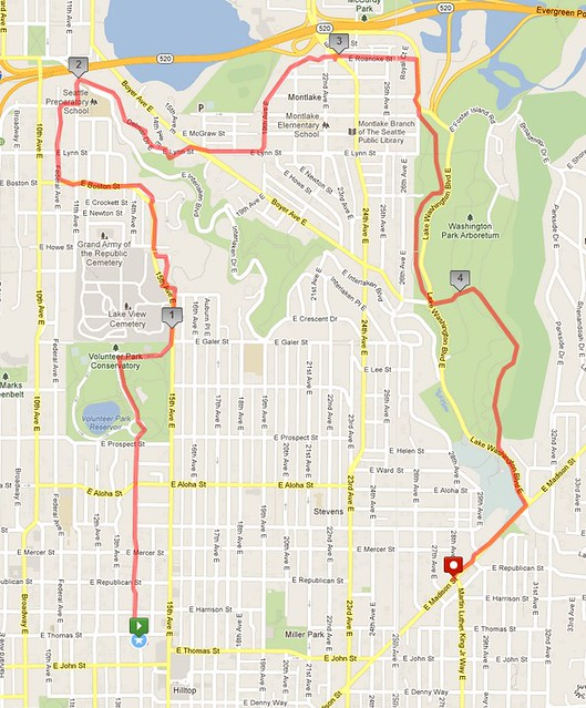 Today's awesome walk, 4.97 miles in 1:34