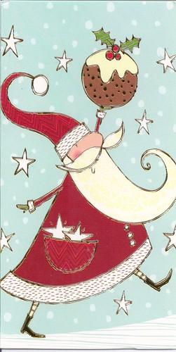Santa Claus & Stars