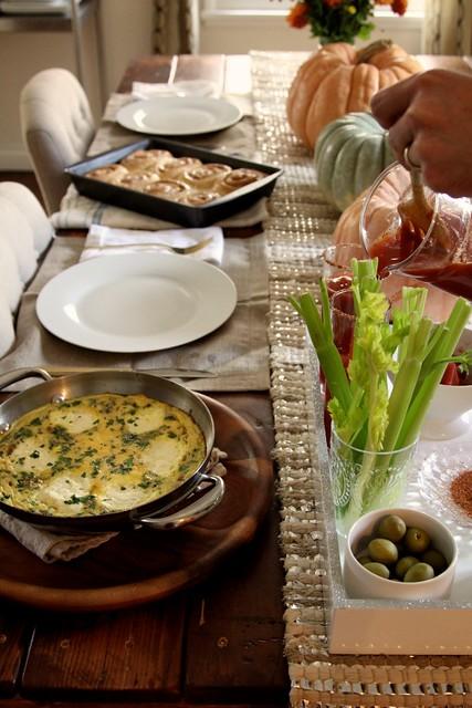 Onion And Ricotta Frittata