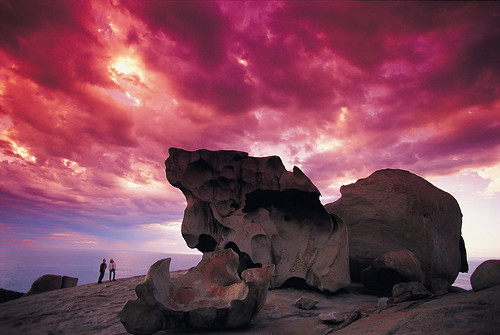 Remarkable-Rocks-at-Sunset-