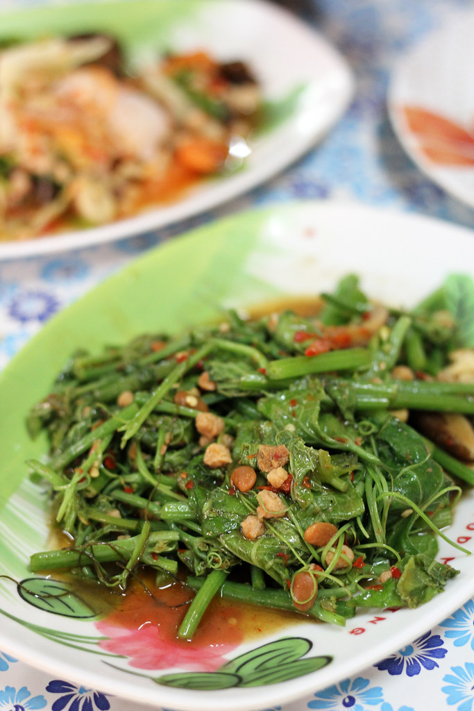 Stir Fried Melon Leaves