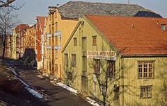 Bryggene i Kjøpmannsgata (ca. 1955)