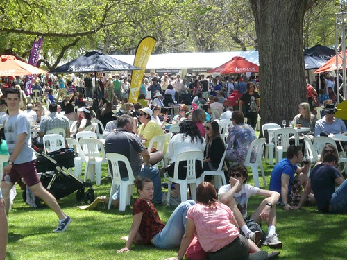 Cheesefest Rymill Park