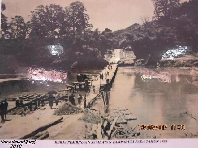Jambatan Tamparuli 1954