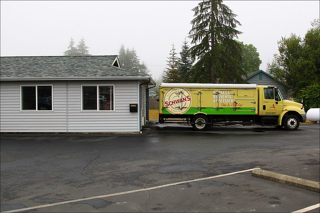 Schwan Food Truck Nascar Ice Cream