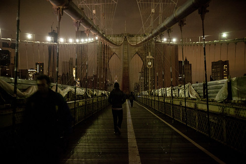 Brooklyn Bridge After Sandy