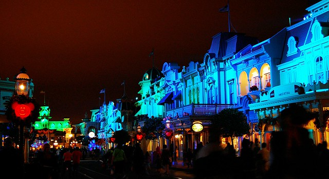 Spooky Main Street USA
