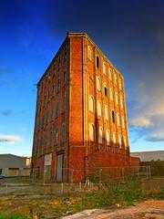 Disused Building in Greenock