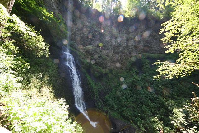 Winter Falls, Silver Falls