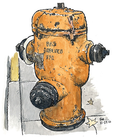 PDX hydrant