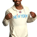 JR Smith In New York Knicks RYAN Sweatshirt By Sportiqe Apparel