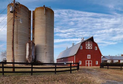 barn landscape virginia us farm va silos 2012 spotsyvanniacounty