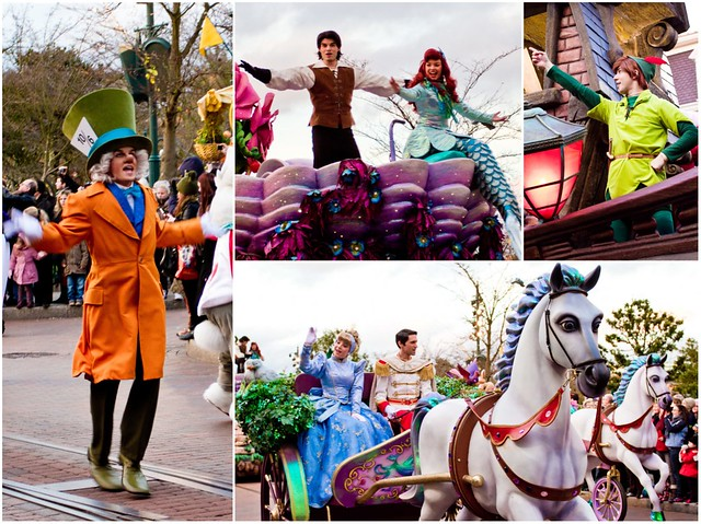 Disneyland Paris Parade Collage