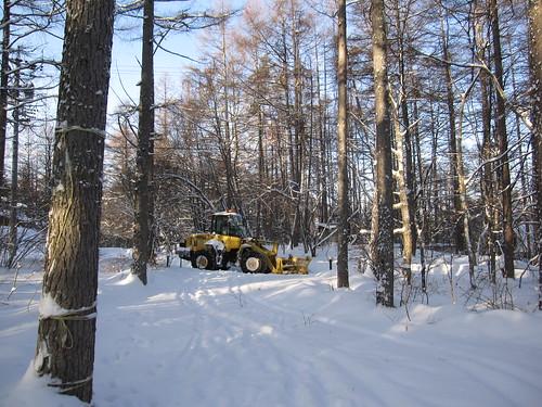 8時には除雪車が来ました by Poran111