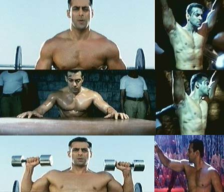 Salman Khan of 2004, in the movie Garv
