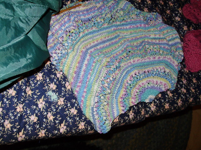 Garden Pond Shawl