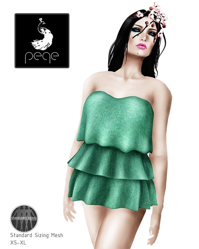 Peqe - Layered Top (mesh)