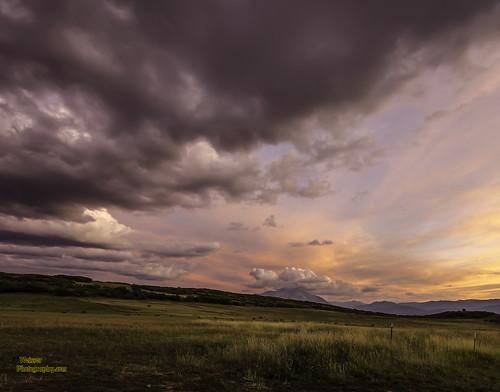 sunset sky mountains clouds aspen redsunset weisserphotography top25naturesbeauty highaspenranch