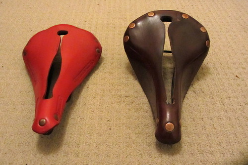 Selle Anatomica vs Butchered Brooks