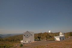 2.3m ANU Telescope under the moonlight