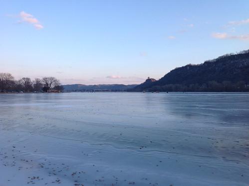 Lake Winona, frozen over by functoruser