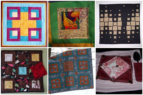 Project QUILTING, Square in a Square Challenge, A Closer Look, Part 3