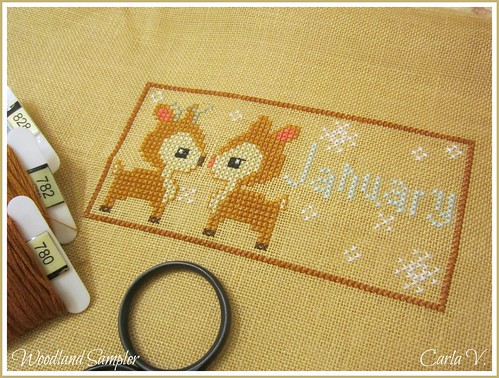 January ~ Deer Couple