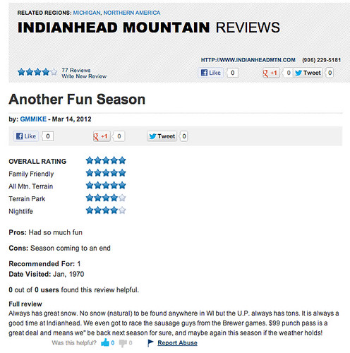 Indianhead Review