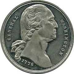 Centennial Medal: Obverse of Baker 404