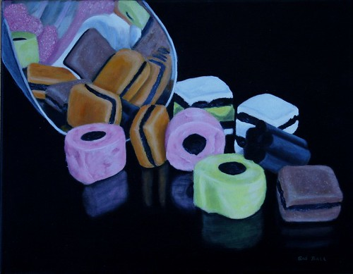 Licorice Allsorts by Sid's art