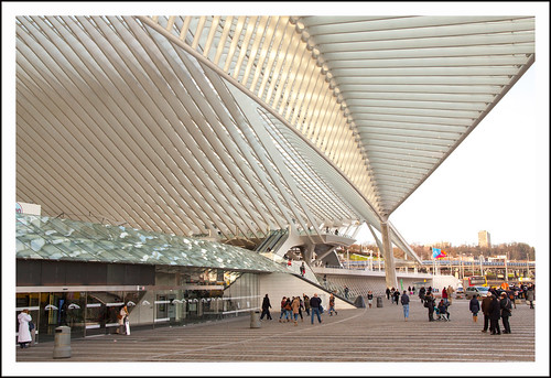 Station Guillemins Luik (25) by hans van egdom