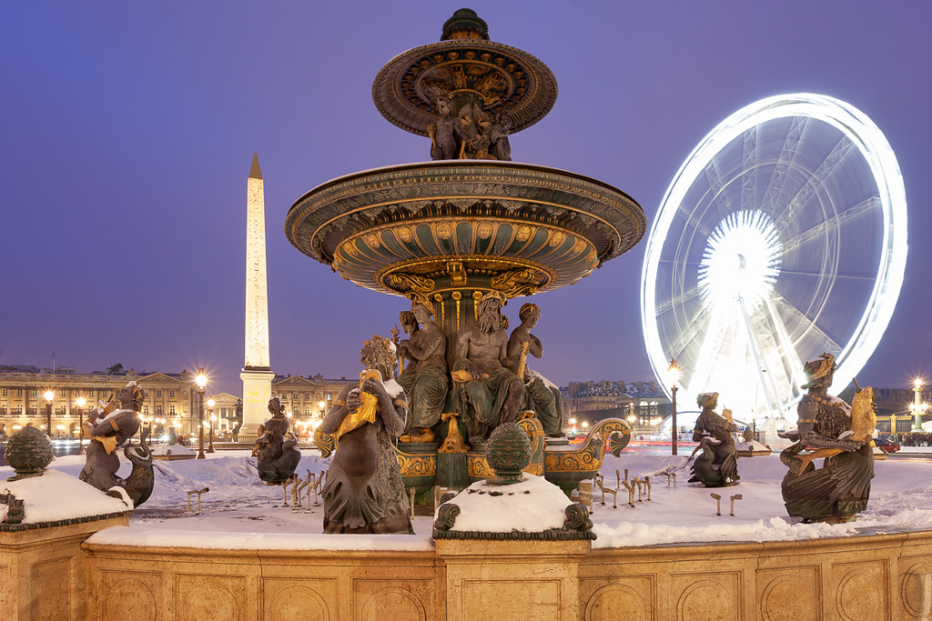 Lights @Place de la Concorde