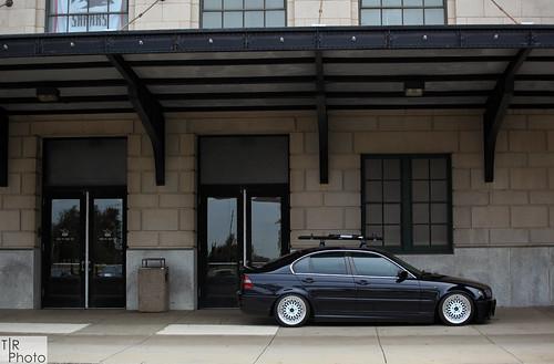 BMW E46 330i on BBS Style 5s