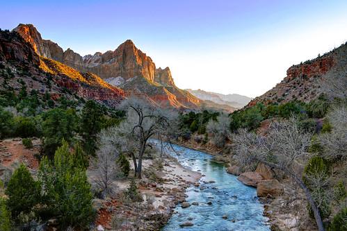 [フリー画像素材] 自然風景, 渓谷, 河川・湖, 岩山, 風景 - アメリカ合衆国 ID:201301291200