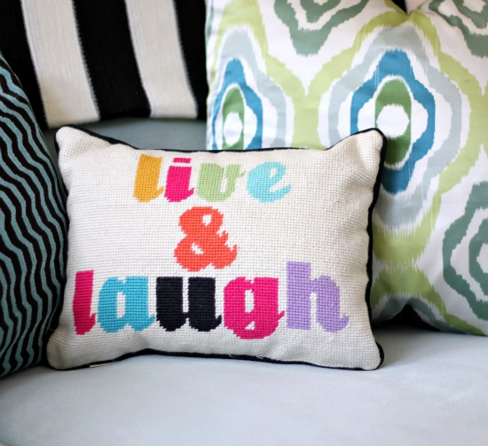 PB Teen Monogrammed Pillows