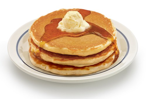 IHOP Pancake Stack/ Photo by IHOP