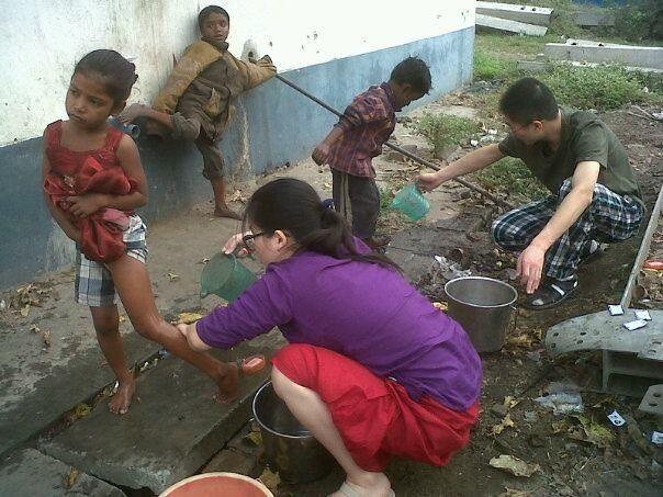 Volunteer in New Delhi, India