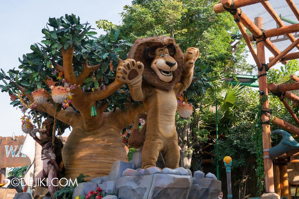 Hollywood Dreams Parade - Madagascar 2
