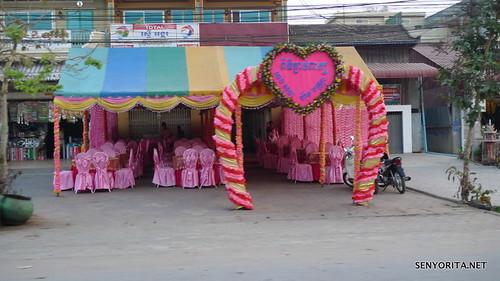 All-Pink Khmer Wedding Reception