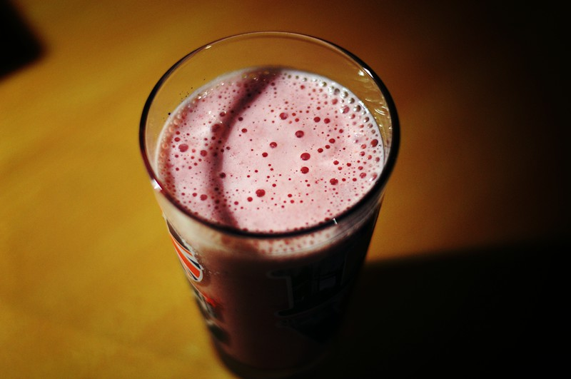 strawberry-banana-milchshake