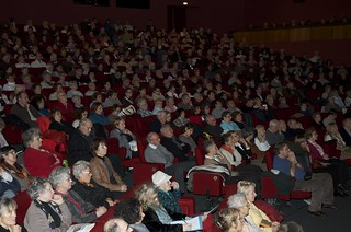 Over 500 people came to hear Vassula in Nantes, France