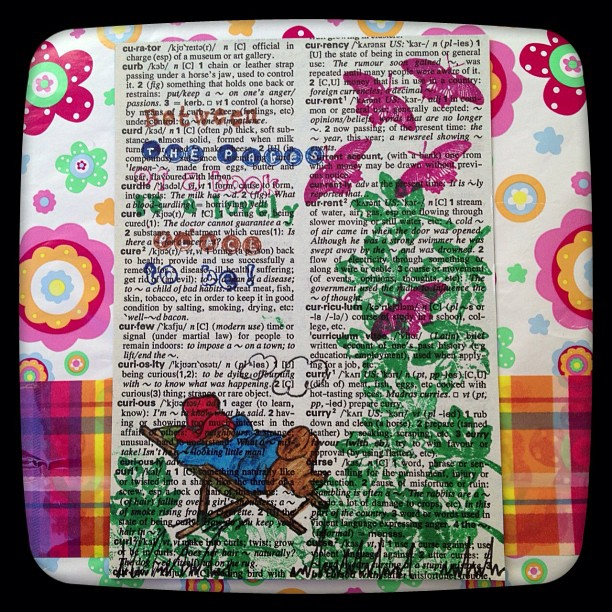 #postcard #book #dictionary #butterflies #leaves #paddingtobear #postcard #quote Between the pages of a book is a lovely place to be!