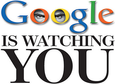 Google is watching you - Internet Joke