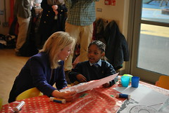 Elizabeth Truss at Durand Academy in London