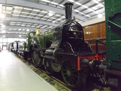 GNR 4-2-2 'Stirling Single' No. 1