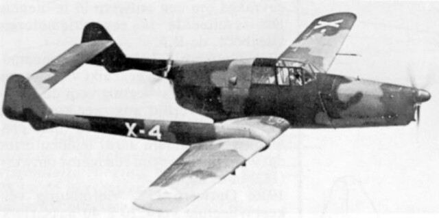Fokker D.23 in flight