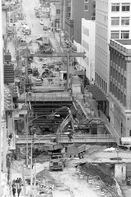 Downtown Seattle Transit Project, Westlake Construction, 1 ...