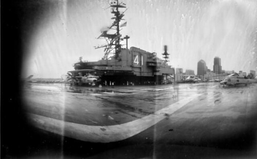 USS Midway Aircraft Carrier-turned museum, San Diego Harbor, California by Crunchy Footsteps