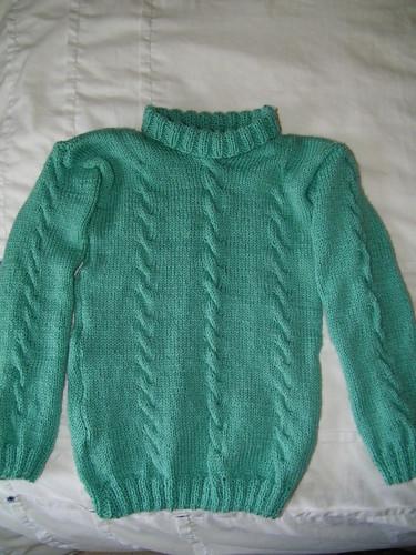 Hand Knitted Children's Jumper - Hangestrickter Kinderpullover by abracacamera