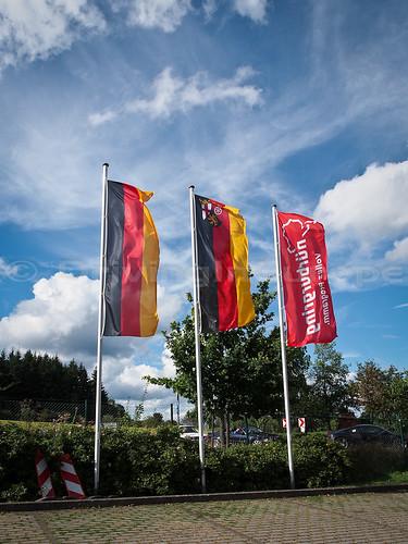 ニュルブルクリンク 旗